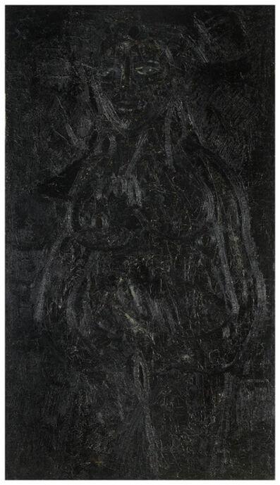 Francis Newton Souza, 'Black Nude', 1965
