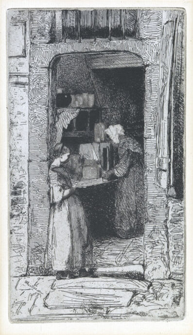 James A. M. Whistler, 'La Marchande de Moutarde', 1858