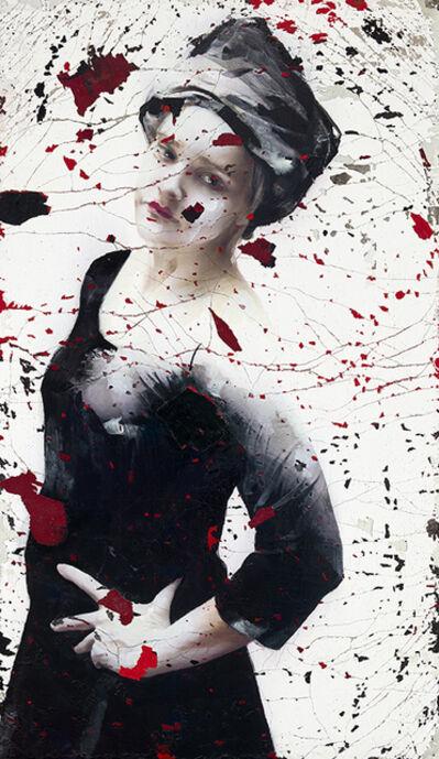 Lita Cabellut, 'Aqui estare', 2020