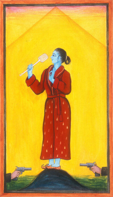 "Siona Benjamin, 'Finding Home #41: ""Yogini""', 2000"