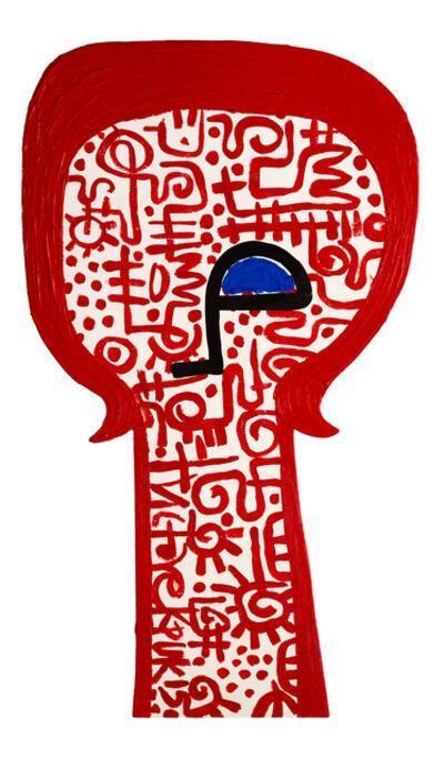 Victor Ekpuk, 'Head 7', 2015