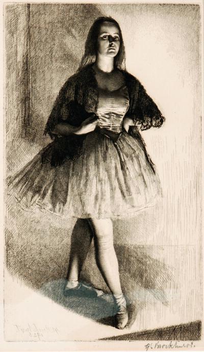 Gerald Leslie Brockhurst, 'Six Portrait Etchings'