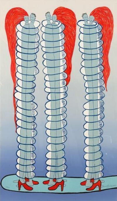 Louise Bourgeois, 'Couples', 2001