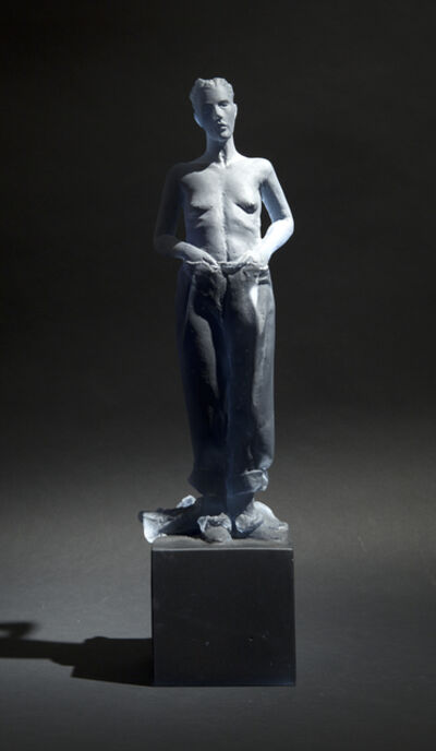 Nicolas Africano, 'Untitled (blue girl in boy's cloths, hands in pants) ', 2014