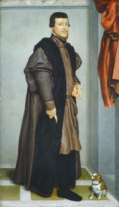 Giovanni Battista Moroni, 'Gian Federico Madruzzo', ca. 1560