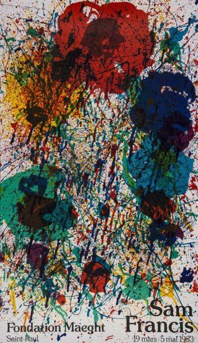 After Sam Francis, 'Expo 1983 (Sam Francis Fondation Maeght) (SF-229p)', 1983