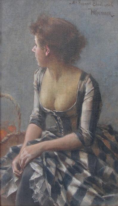 Frederik Kaemmerer, 'Portrait of a Woman'