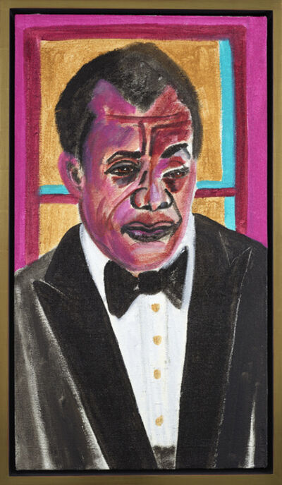 Frederick James Brown, 'James Baldwin', 2008