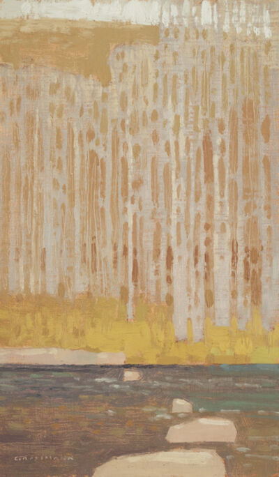 David Grossmann, 'Across the Late Winter Creek', 2018