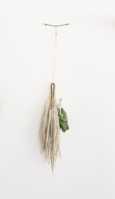 Catharina van Eetvelde, 'STEEL, ZINC, POLYMER, RUBBER, COTTON(STRAP) to FEATHER...', 2014