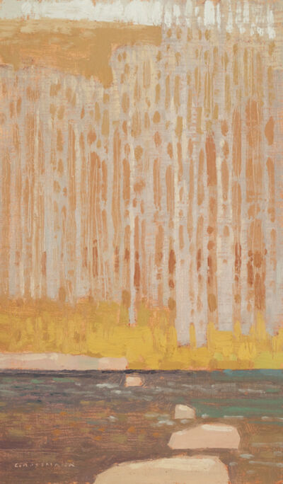 "David Grossmann, '""Across the Late Winter Creek"" ', 2017"