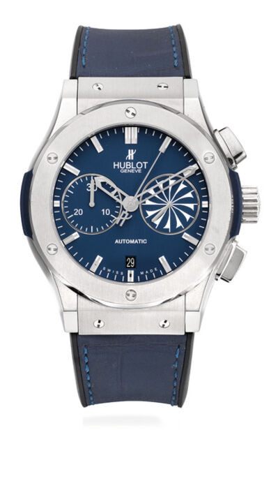 Hublot, 'A fine and rare limited edition chronograph titanium wristwatch with date, certificate of authenticity, international warranty and presentation box, numbered 10 of a limited edition of 25 pieces', 2012