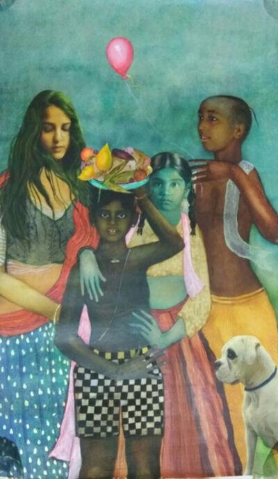 Anjolie Ela Menon, 'Pastorale II ', 2015