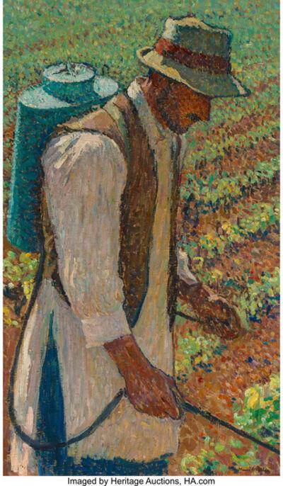 "Henri-Jean Guillaume Martin, 'Le Sulfateur (Study for ""Le Sulfatage"")'"