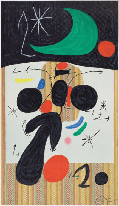 Joan Miró, 'Intérieur et Nuit. Interior and Night', 1969