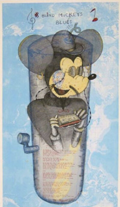 William T. Wiley, 'Blind Mickey's Blues', 1997