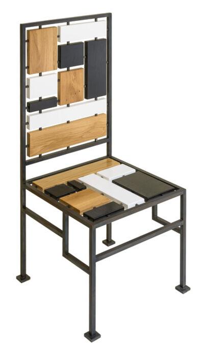Elizabeth Garouste, 'Chaise Mondrian', 2014