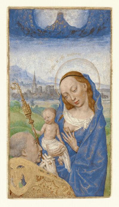 Simon Marmion, 'Saint Bernard's Vision of the Virgin and Child', 1475-1480