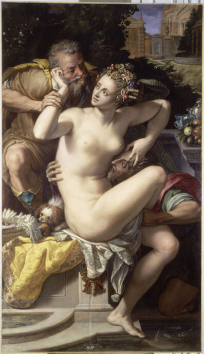 Alessandro Allori, 'Suzanne et les vieillards (Susanna and the elders)'