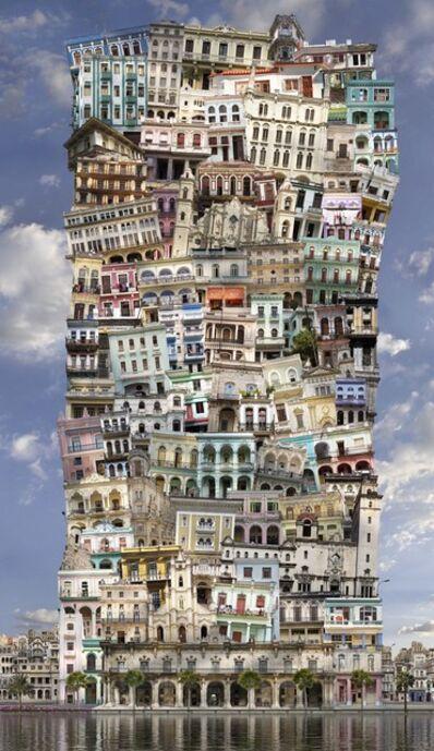Jean-François Rauzier, 'Babel Cuba', 2017