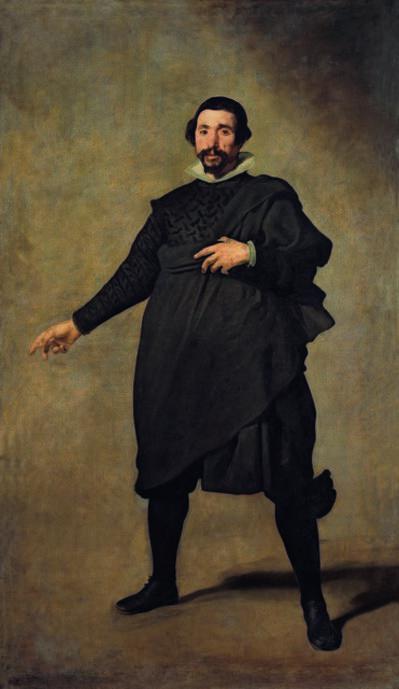 Diego Velázquez, 'Portrait of Pablo de Valladolid', ca. 1635