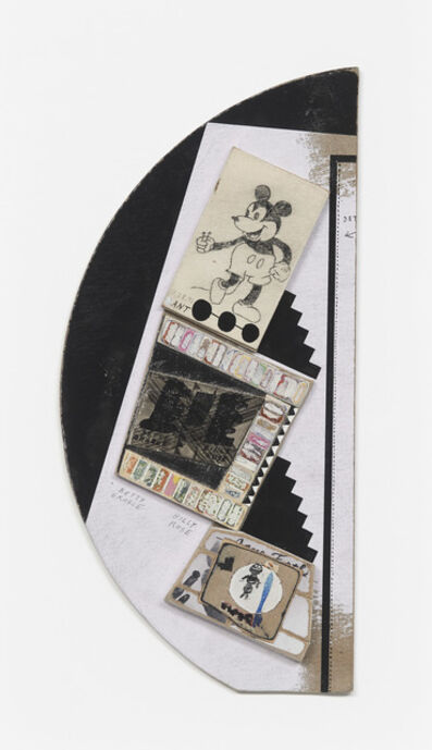 Ray Johnson, 'Untitled (Mickey with ant)', 1991