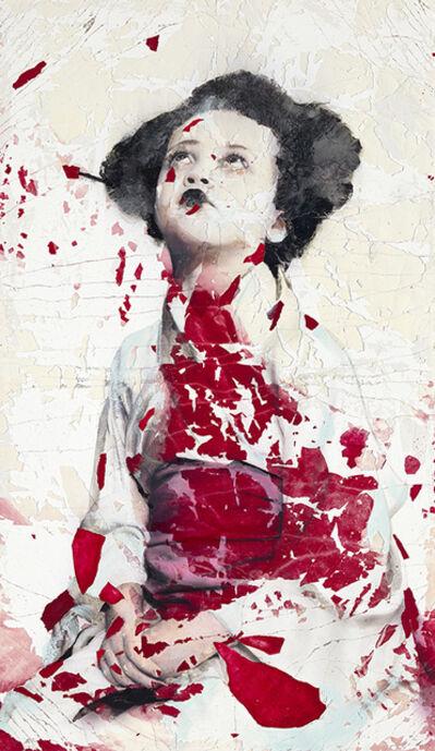 Lita Cabellut, 'Rojo de primavera', 2020