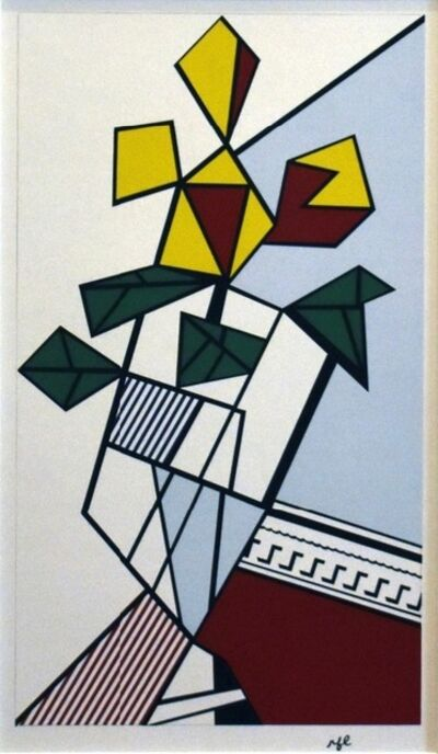 Roy Lichtenstein, 'Flowers', 1973