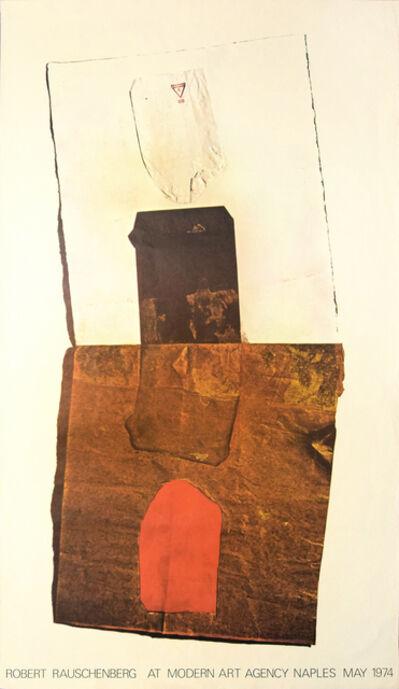 Robert Rauschenberg, 'Robert Rauschenberg's Vintage Poster', 1974