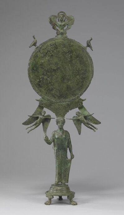 'Caryatid Mirror with Aphrodite', ca. 460 BCE