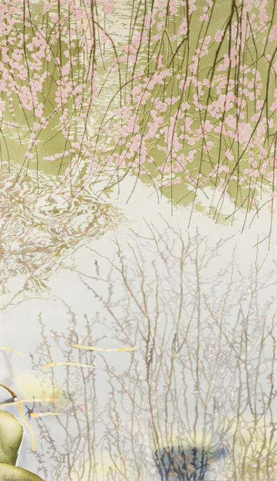 Ben Norris, 'Brooklyn Botanical Garden No. 8: Cherry Blossoms III', 1992