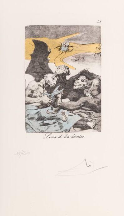 Salvador Dalí, 'Untitled, from Les Caprices de Goya', 1977