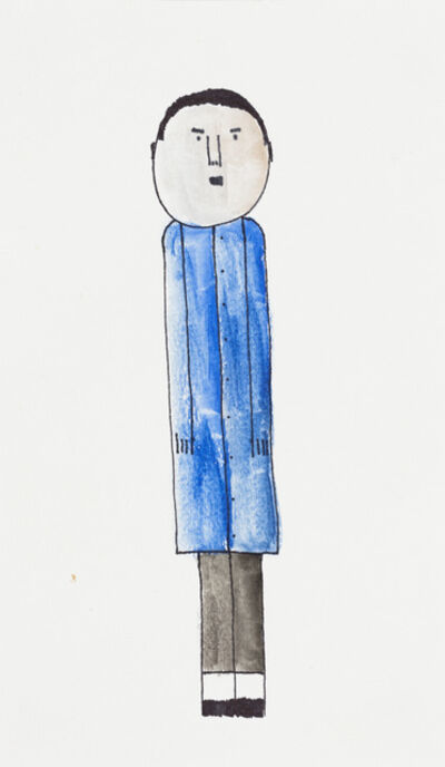 James Miles, 'Untitled (Man in Blue)', 2018
