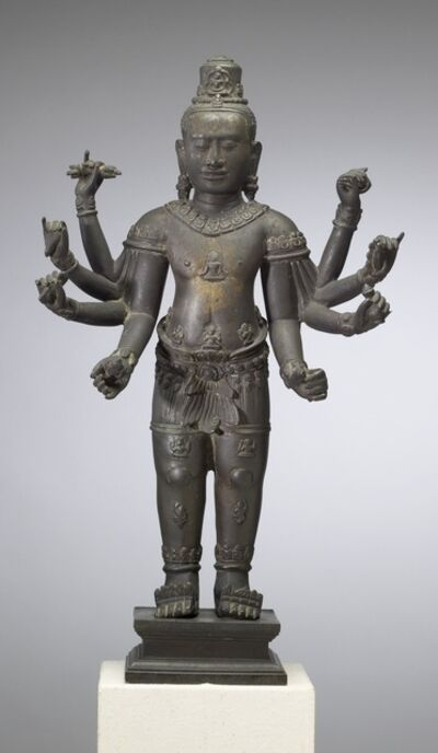 'Eight-armed Avalokiteshvara', ca. 12th-13th century