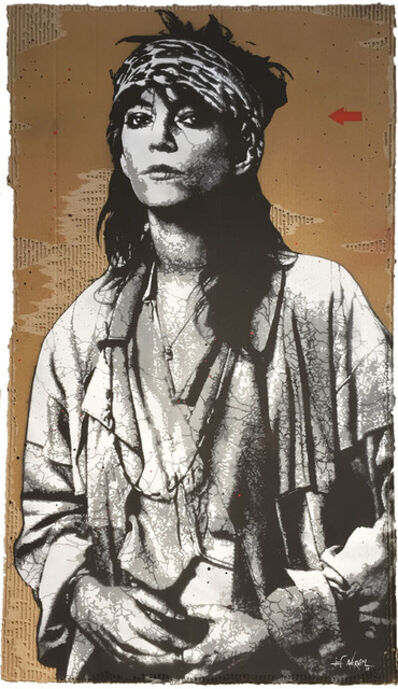 Jef Aérosol, 'Patti Smith', 2018