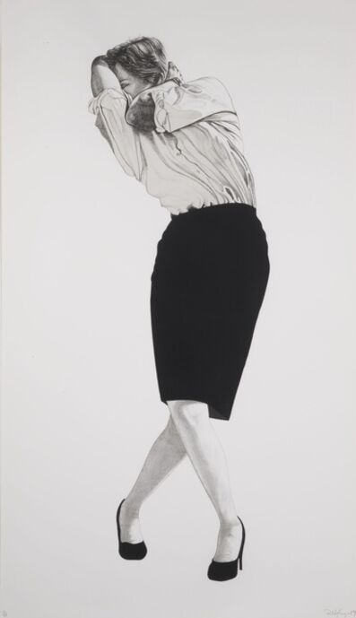Robert Longo, 'Cindy', 1984