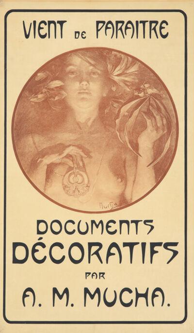 Alphonse Mucha, 'Documents Décoratifs. ', 1902