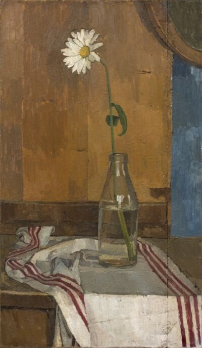 Euan Uglow, 'Daisy in a Milk Bottle', 1953