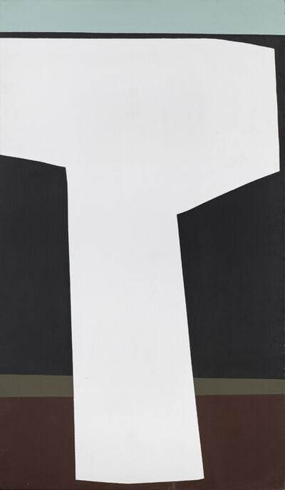 Kenneth Kemble, 'Esquema de robot en forma de T | T-shaped robot outline', 1970