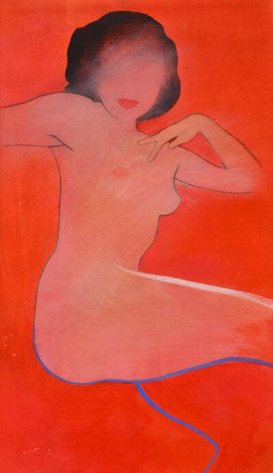 Antony Donaldson, 'Untitled Naked Girl Red', 2018-2019