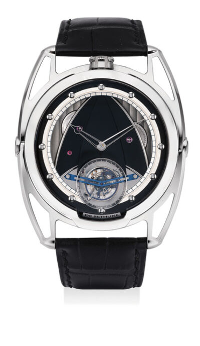 De Bethune, 'A fine and rare titanium wristwatch with tourbillon and power reserve, numbered 30', 2011