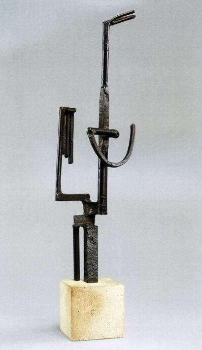 "Julio González, 'Personnage dit ""femme au miroir""', Conceived in iron in 1934"