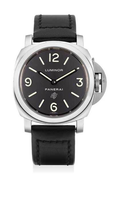 Panerai, 'A rare limited edition stainless steel wristwatch with additional rubber strap, numbered 83 of a limited edition of 500 pieces', Circa 2010