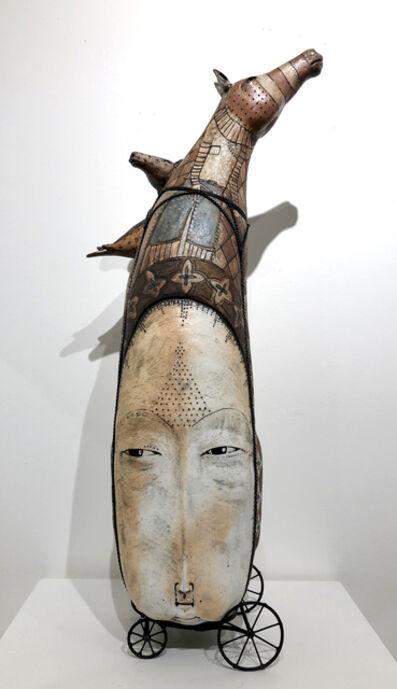 Robin & John Gumaelius, 'Horse hat Reaching', 2018