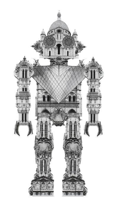 Joel Kuntz, 'Globobot Paris', 2015