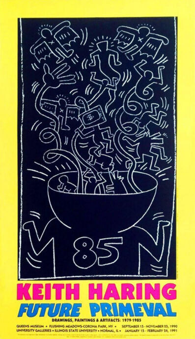 Keith Haring, 'FUTURE PRIMEVAL 85', 1985