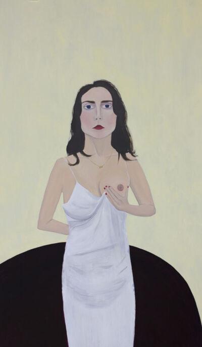 Evie O'Connor, 'Liv holding breast', 2017