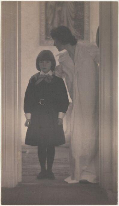 Gertrude Käsebier, 'Blessed Art Thou among Women', 1899
