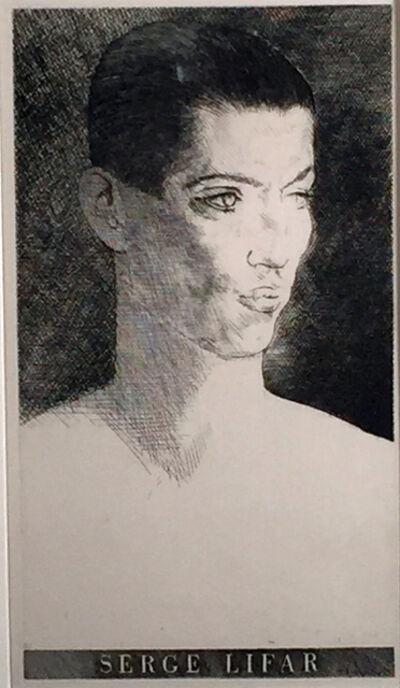 Louis Marcoussis, 'SERGE LIFAR', 1933