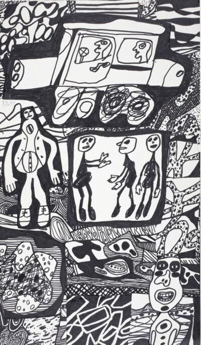 Jean Dubuffet, 'Annale XXVII (Site à l'Auto)'